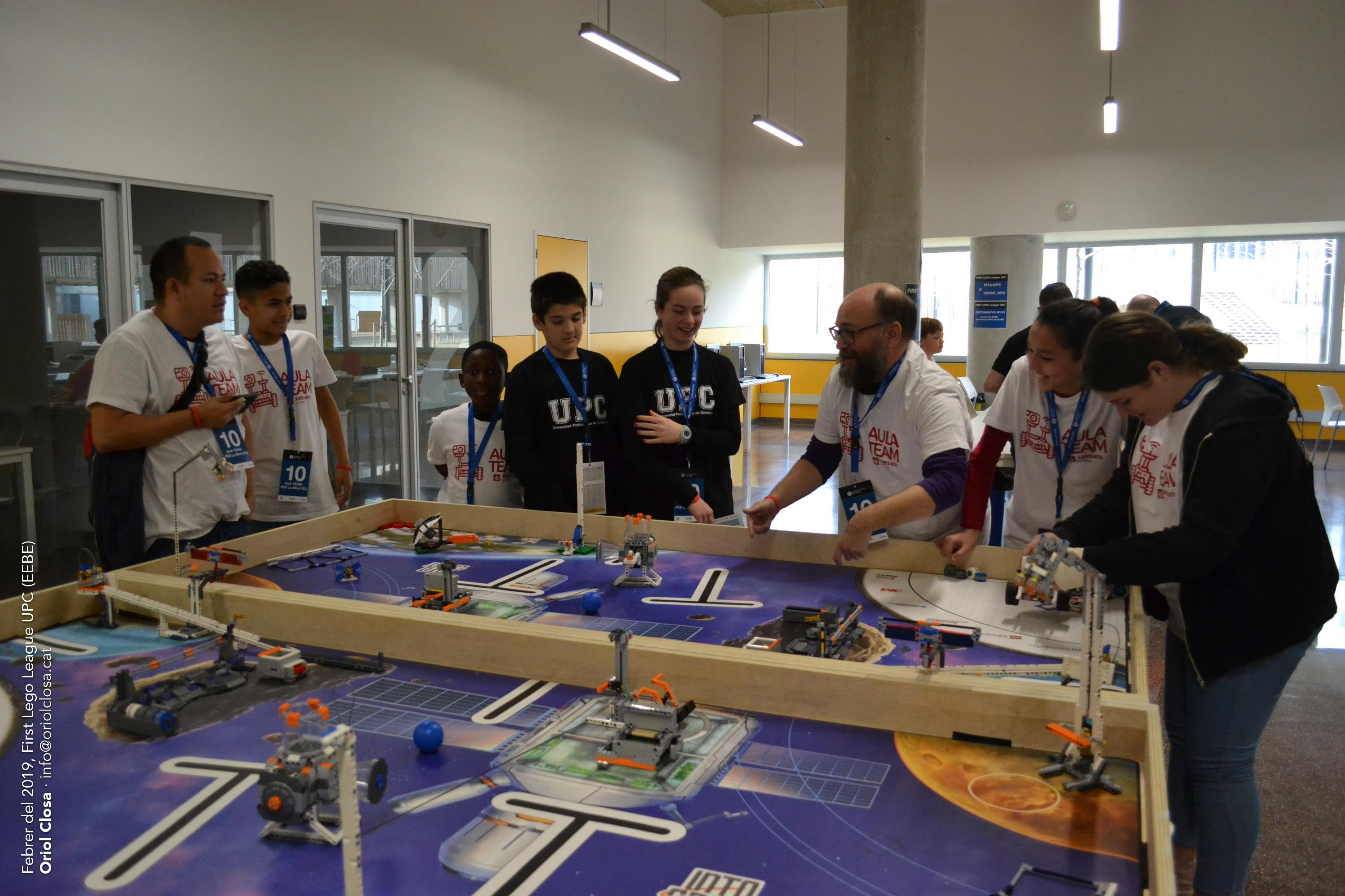 Imatge del torneig First Lego League